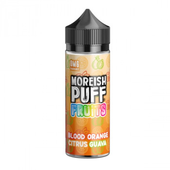 Blood Orange, Citrus, Guava Fruit 100ml Shortfill Liquids by Moreish Puff
