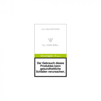 VON ERL. MY. GreenApple (2er Pack) Liquidpods