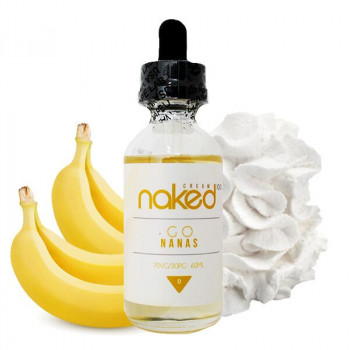 Naked 100 - Go Nanas 50ml Plus e Liquid