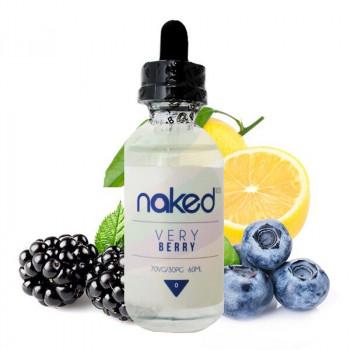 Naked 100 - Very Berry 50ml Plus e Liquid