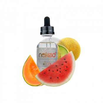 Naked 100 - All Melons 50ml Plus e Liquid