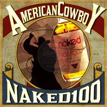 Naked 100 - American Cowboy 50ml Plus e Liquid