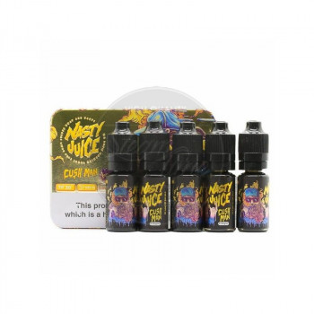 Cush Man by Nasty Juice 5 x 10ml e Liquid