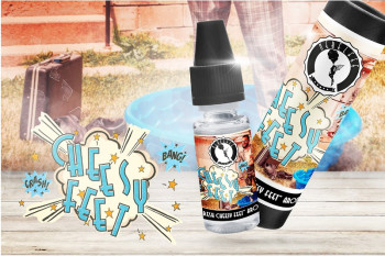 Nebelfee ´s Fresh Cheesy Feet 10ml Aroma e Liquid