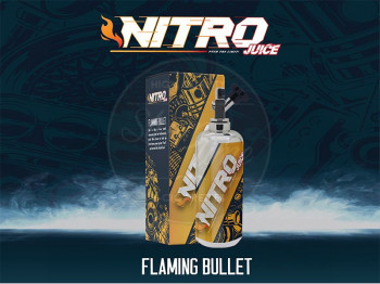 Flamming Bullet (50ml) Plus e Liquid by Nitro Juice