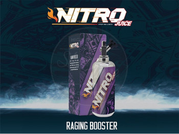 Raging Booster (50ml) Plus e Liquid by Nitro Juice