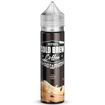 Almond Cappuccino 15ml Longfill Aroma by Nitro's Cold Brew Coffee