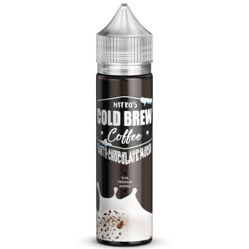 White Chocolate Mocha 15ml Longfill Aroma by Nitro's Cold Brew Coffee