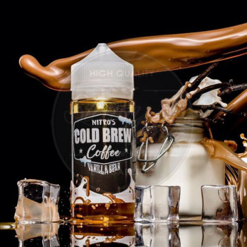 Vanilla Bean (50ml) Plus e Liquid by Nitro's Cold Brew