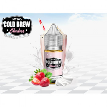 Strawberry & Cream (30ml) Aroma by Nitro's Cold Brew Shakes