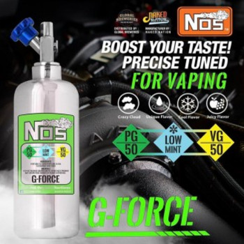 NOS G-Force 50ml e Liquid by Naked Nation