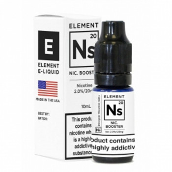 Ns20 Nic Salt Booster Nikotinshot 10ml 20mg by Element