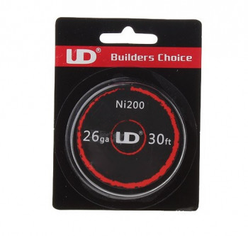 UD Pure Nickel Ni200 26AWG 0,4mm 10m (0,69€/pro m)