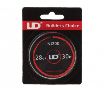UD Pure Nickel Ni200 28AWG 0,32mm 10m (0,69€/pro m)