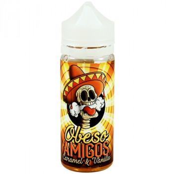 Caramel & Vanilla (100ml) Plus Liquid by Obeso Amigos