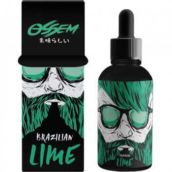 Brazilian Lime (50ml) Plus e Liquid by Ossem Juice