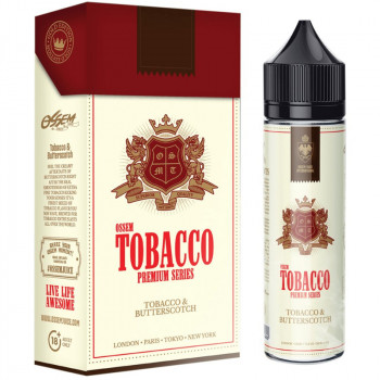 Butterscotch Tobacco Tobacco Series (50ml) Plus e Liquid by Ossem Juice