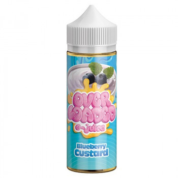 Overloaded Blueberry Custard (100ml) Plus e Liquid by Overloaded