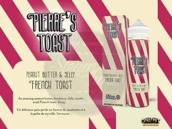 PB & J (50ml) Plus e Liquid by Pierre's Toast