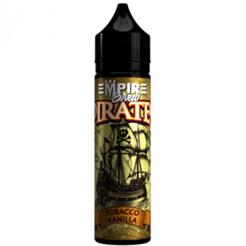 Tobacco & Vanilla Pirate Vape (50ml) Plus e Liquid by Empire Brew