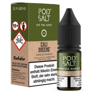 Amnesia Mango 20mg 10ml Liquid by Pod Salt