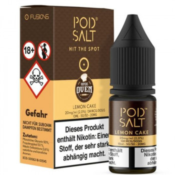 Lemon Cake 20mg 10ml Liquid by Pod Salt
