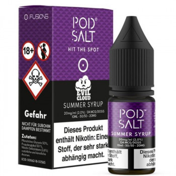 Summer Syrup 20mg 10ml Liquid by Pod Salt
