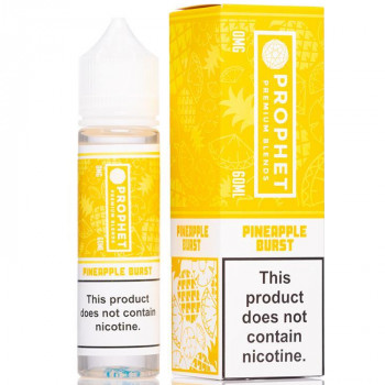 Pineapple Burst 50ml Shortfill Liquid by Prophet Premium Blends