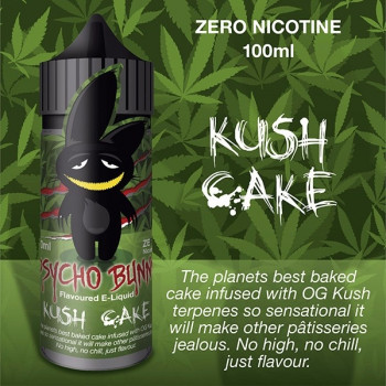 Kush Cake (100ml) Plus e Liquid by Psycho Bunny