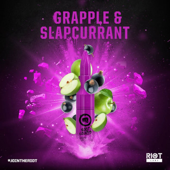 Grape & Slapcurrant (50ml) Plus e Liquid by Riot Squad