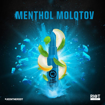 Menthol Moloton (50ml) Plus e Liquid by Riot Squad