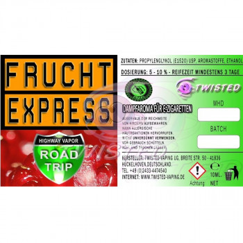 Frucht Express 10ml Aroma by Twisted Vaping