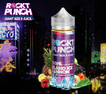 Island Ice Cannon (100ml) Plus e Liquid by Rockt Punch