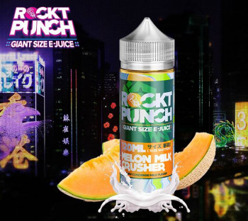 Melon Milk Crusher (100ml) Plus e Liquid by Rockt Punch