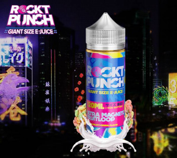Ultra Magnetic Fruit Loop (100ml) Plus e Liquid by Rockt Punch