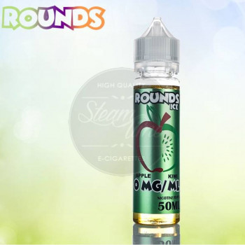 Apple Kiwi Ice 50ml Plus e Liquid by Rounds