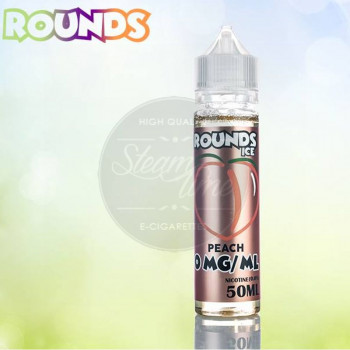 Peach Ice 50ml Plus e Liquid by Rounds