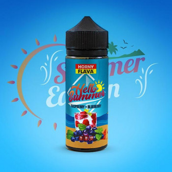 Raspberry & Blueberry (100ml) Plus by Horny Flava Sommer Edition