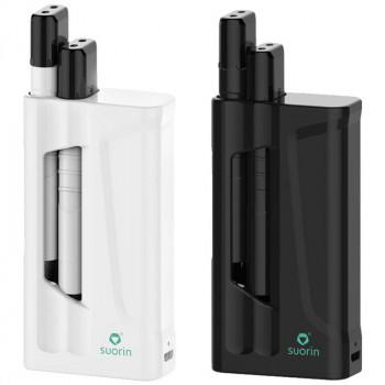 Suorin iShare 1,8ml (2x0,9ml) 130mAh Dual Kit mit 1400mAh Powerbank
