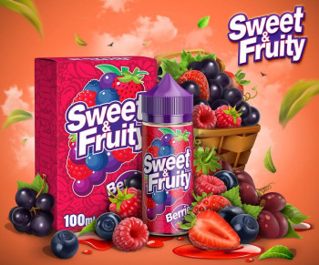 Sweet & Fruity Berries (80ml) Plus e Liquid by Humble Juice