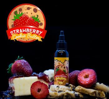 Vaper Treats - Strawberry Cookie Butter - 60ml e Liquid