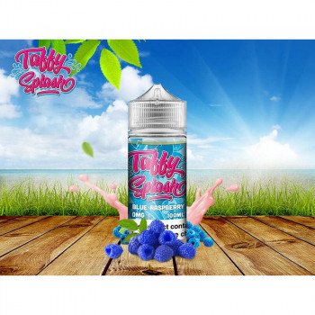 Blue Raspberry (80ml) Plus e Liquid by Taffy Splash