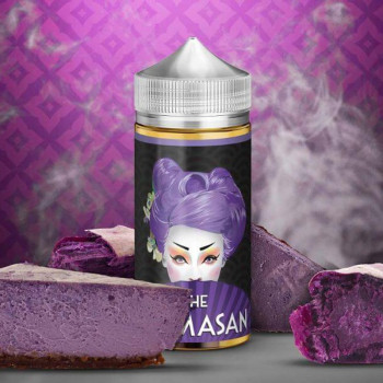 Purple Cheesecake (50ml) Plus e Liquid by The Mamasan