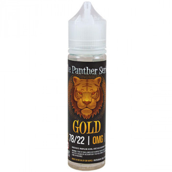 Gold The Panther Series (50ml) Plus Liquid by Dr. Vapes
