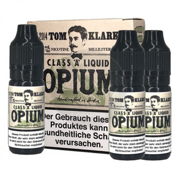 Tom Klark's - Opium 3x10ml Multipack e Liquid 3 x 10ml