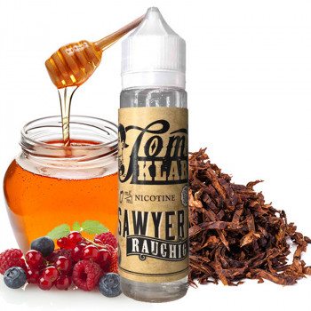 Tom Sawyer Rauchig (60ml) Plus e Liquid by Tom Klark`s
