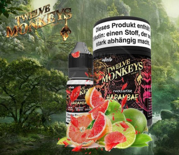 Twelve Monkeys Harambae 3x10ml Multipack e Liquid