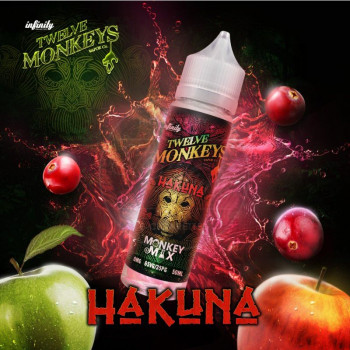Hakuna (50ml) Plus e Liquid by Twelve Monkeys