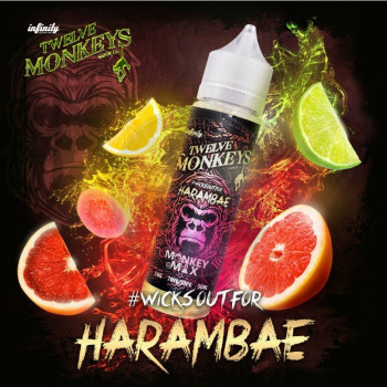 Harambae (50ml) Plus e Liquid by Twelve Monkeys