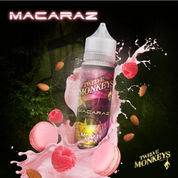 MacaRaz (50ml) Plus e Liquid by Twelve Monkeys